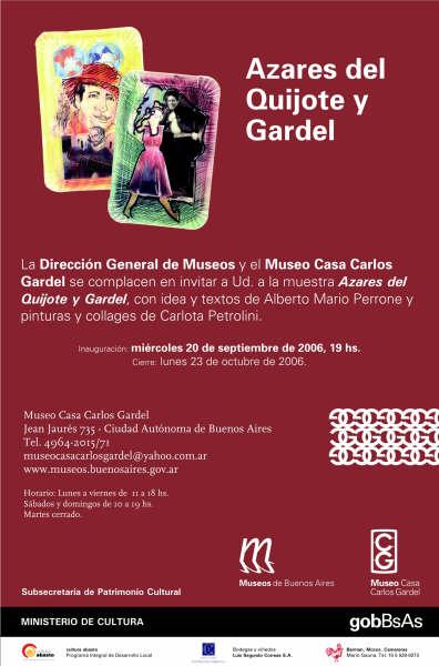 Afiche de Carlota Petrolini