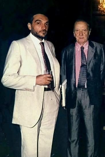 Alberto Perrone y Enrique Cadícamo