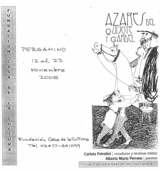 Zeichnung von Carlota Petrolini